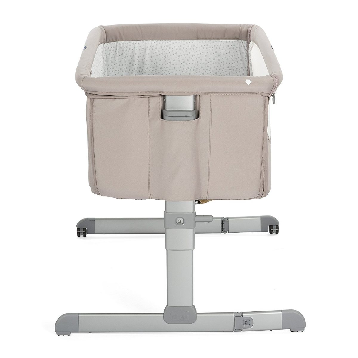 Chicco Next 2 Me Side Sleeping Crib Chick2chick Beige