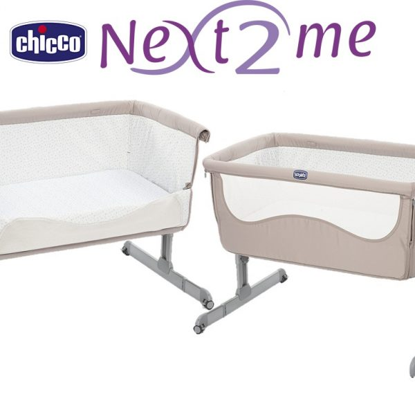 Chicco Next 2 Me Crib - Chick2Chick - Beige